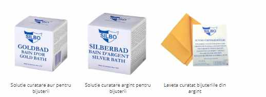 solutii curatare aur si argint - lavete BeSpecial